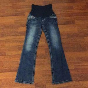 Wallflower Maternity Straight Jeans